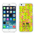 Plastic Coach Covers Hard Back Cases Protective Shell Skin for iPhone 6 Plus 5.5 Yellow - White