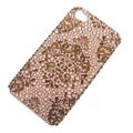 Bling Swarovski crystal cases diamond covers for iPhone 6S - Brown