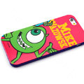 Cartoon Cover Disney Mike Wazowski Silicone Cases Skin for iPhone 6S - Red