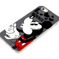 Cartoon Cover Disney Minnie Mouse Silicone Cases Shell for iPhone 6S - Black