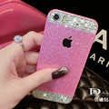Good Swarovski Bling Rhinestone Case Diamond Cover for iPhone 6S - Rose