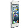 Swarovski Bling Diamond Ultrathin Metal Bumper Frame Case Cover for iPhone 6S - Gray