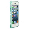 Swarovski Bling Diamond Ultrathin Metal Bumper Frame Case Cover for iPhone 6S - Green