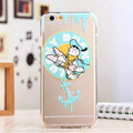 TPU Cover Disney Donald Duck Silicone Case Minnie for iPhone 6S - Transparent