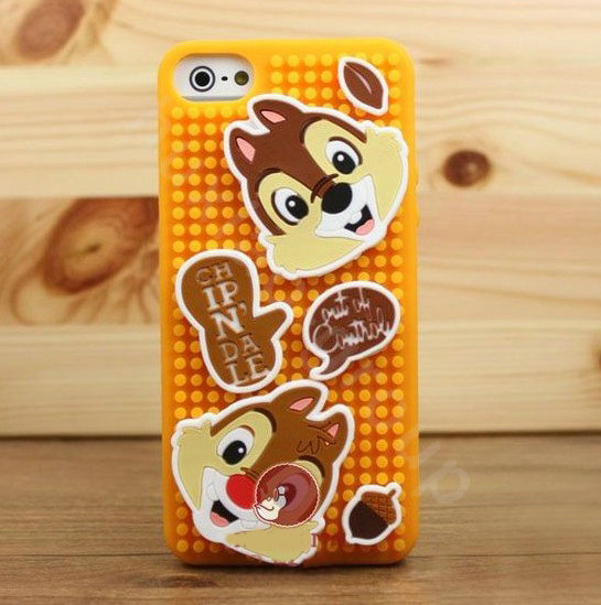Buy Wholesale 3D Squirrel Cover Disney DIY Silicone Cases Skin for ...