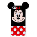 Cute Minnie Mouse Covers Hard Back Cases Disney Shell for iPhone 7 - Red