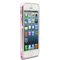Swarovski Bling Diamond Ultrathin Metal Bumper Frame Case Cover for iPhone 7 - Pink