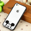 TPU Cover Disney Mickey Mouse Head Silicone Case Skin for iPhone 7 - Black