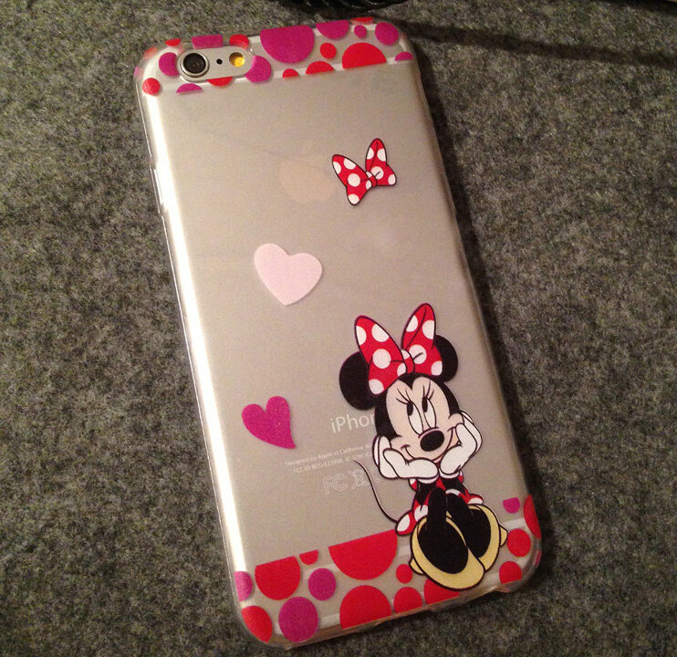 disney iphone 7 cover( mini mouse) on