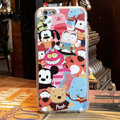 Cartoon Cover Disney Cute Silicone Cases Skin for iPhone 6 4.7 - White