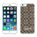 Cool Coach Covers Hard Back Cases Protective Shell Skin for iPhone 6 4.7 - White