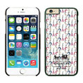 Plastic Coach Covers Hard Back Cases Protective Shell Skin for iPhone 6 4.7 White - Black