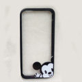 TPU Cover Disney Mickey Mouse Cute Transparen Silicone Case for iPhone 6 4.7 - Black