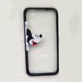TPU Cover Disney Mickey Mouse Look Transparen Silicone Case for iPhone 6 4.7 - Black