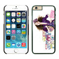 Ultrathin Coach Covers Hard Back Cases Protective Shell Skin for iPhone 6 4.7 Girls - Black