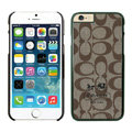 Unique Coach Covers Hard Back Cases Protective Shell Skin for iPhone 6 4.7 - Black