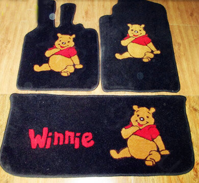 Buy Wholesale Winnie The Pooh Tailored Trunk Carpet Cars