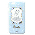 Brand Deer Covers Plastic Back Cases Cartoon Polka Dot for iPhone 6S Plus 5.5 - Blue