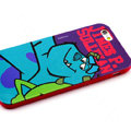 Cartoon Cover James P. Sullivan Silicone Cases Skin for iPhone 6S Plus 5.5 - Blue