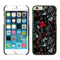 Heart Coach Covers Hard Back Cases Protective Shell Skin for iPhone 6S Plus 5.5 Black - Black