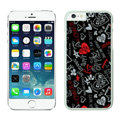 Heart Coach Covers Hard Back Cases Protective Shell Skin for iPhone 6S Plus 5.5 Black - White