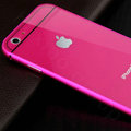 Luxury Aluminum Alloy Metal Bumper Frame Covers + PC Back Cases for iPhone 6S Plus 5.5 - Rose