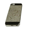 Luxury Plated metal Hard Back Cases Covers for iPhone 6S Plus - Grey