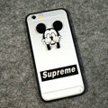 TPU Cover Disney Mickey Mouse Silicone Case Supreme for iPhone 6S Plus 5.5 - Transparent