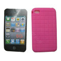 s-mak Silicone Cases Skin for iPhone 6S Plus - Rose