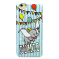 Brand Dumbo Covers Plastic Back Cases Cartoon Cute for iPhone 7 Plus 5.5 - Blue