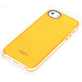 ROCK Joyful free Series Leather Cases Holster Covers for iPhone 7 Plus - Yellow