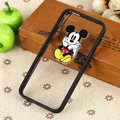 TPU Cover Disney Mickey Mouse Silicone Case Skin for iPhone 7 Plus 5.5 - Black