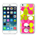 Unique Coach Covers Hard Back Cases Protective Shell Skin for iPhone 7 Plus 5.5 Pink - White