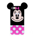 Cute Minnie Mouse Covers Hard Back Cases Disney Shell for iPhone 7S - Rose