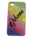 Swarovski Bling crystal Cases Luxury diamond covers for iPhone 7S - Color