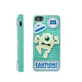 3D Bigeye Cover Disney DIY Silicone Cases Skin for iPhone 8 - Blue