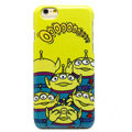 Brand Alien Covers Plastic Back Cases Cartoon Cute for iPhone 8 - Yellow