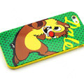Cartoon Cover Disney Cute Silicone Cases Skin for iPhone 8 - Green