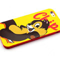 Cartoon Cover Disney Cute Silicone Cases Skin for iPhone 8 - Yellow