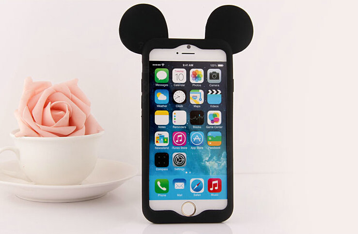 custodia iphone 8 silicone disney