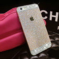 Classic Swarovski Bling Rhinestone Case Diamond Cover for iPhone 8 - Gold
