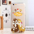 TPU Cover Disney Dale Silicone Case Minnie for iPhone 8 - Transparent