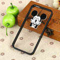 TPU Cover Disney Mickey Mouse Thumb Silicone Case Skin for iPhone 8 - Black