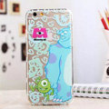 TPU Cover Sulley Silicone Case Minnie for iPhone 8 - Transparent