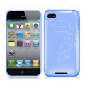 iPEARL Silicone Cases Covers for iPhone 8 - Blue