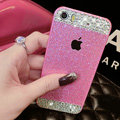 Classic Swarovski Bling Rhinestone Case Diamond Cover for iPhone 8 Plus - Rose
