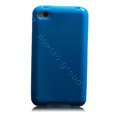 Inasmile Silicone Cases Covers for iPhone 8 Plus - Blue