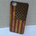 Retro USA American flag Hard Back Cases Covers Skin for iPhone 8 Plus
