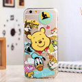 TPU Cover Disney Winnie the Pooh Silicone Case Donald Duck for iPhone 8 Plus - Transparent