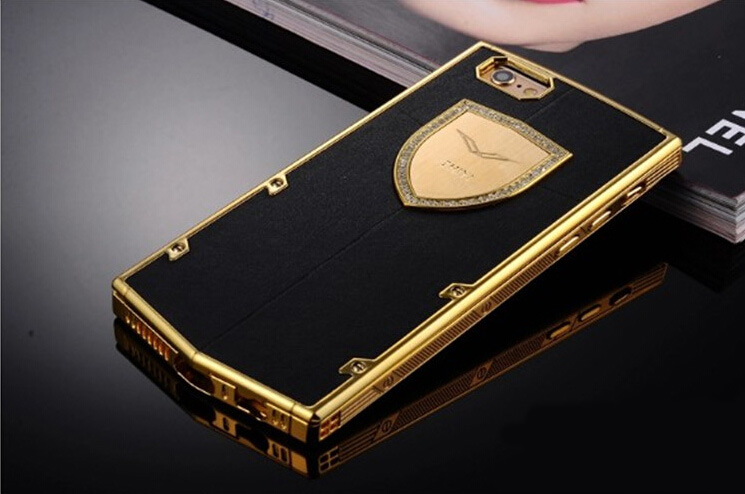 iphone 7 case gold and black